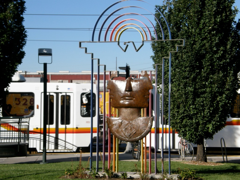 10th and Osage Light Rail Station
