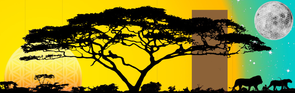1.Tree mural Photoshop concept