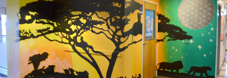 3.Completed Tree Mural Photo